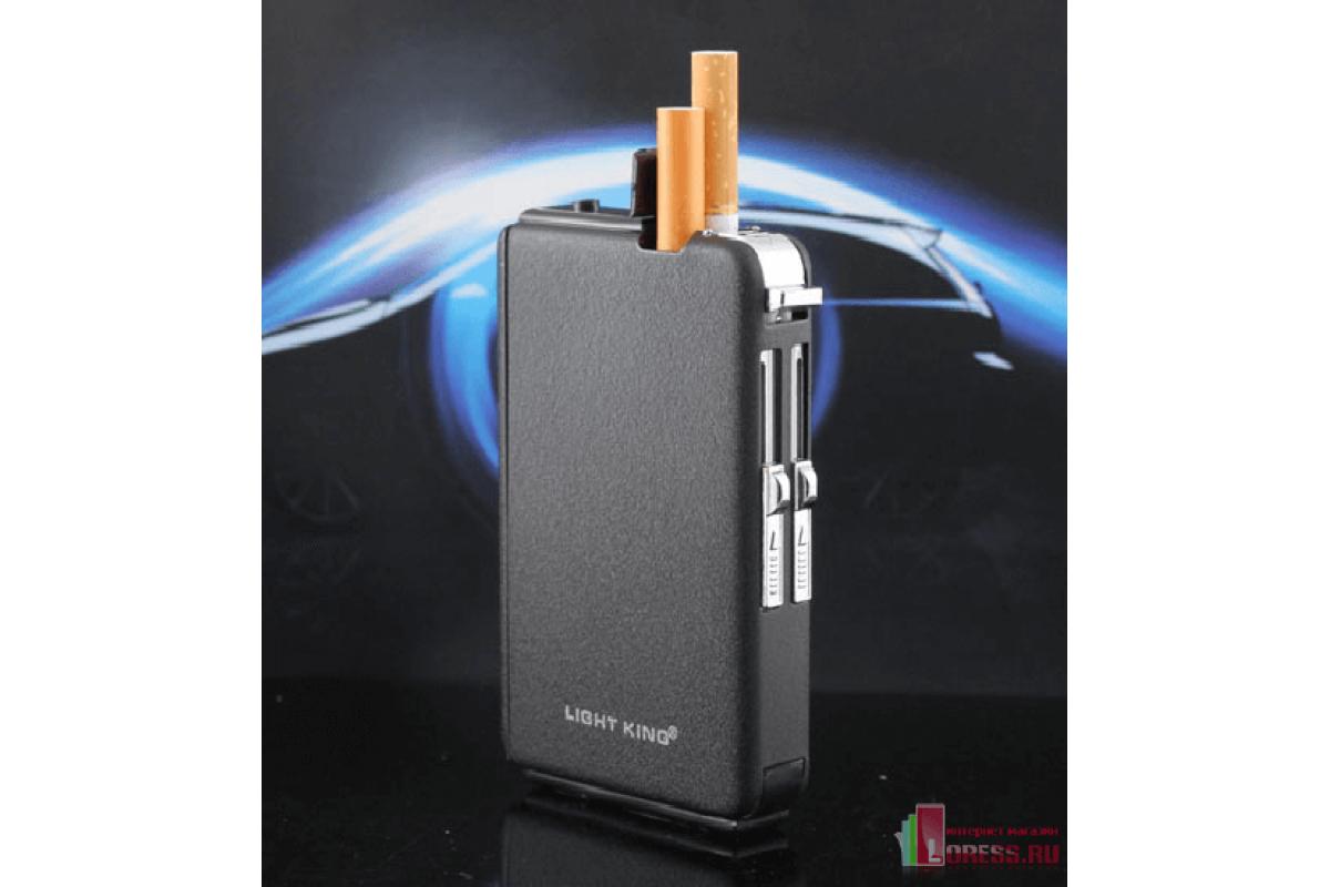 Купить портсигар для сигарет с зажигалкой купить электронный сигарет в симферополе