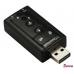 Внешняя звуковая карта USB 7.1 Channel Sound
