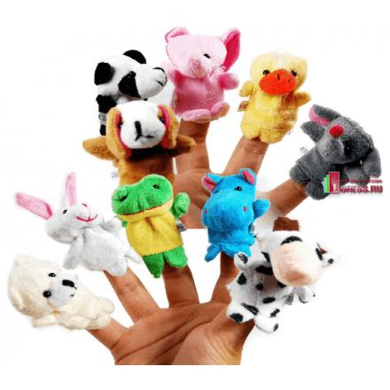 Пальчиковые игрушки 10 шт.