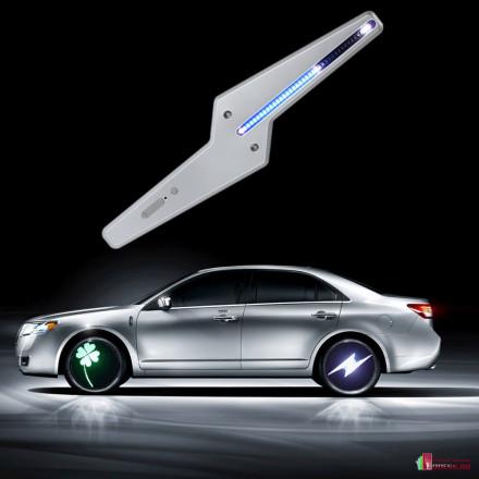 Анимационная подсветка колес автомобиля (4 шт.)