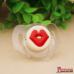 МОДЕЛЬ (соска-пустышка): Губы красные (с кольцом)