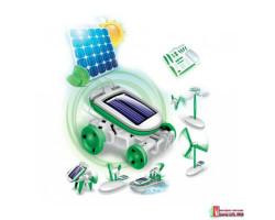 Детский конструктор на солнечной батарее «6 в 1»
