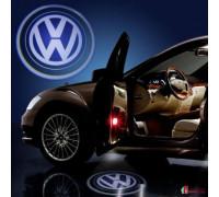 Проводная лазерная проекция в двери автомобиля