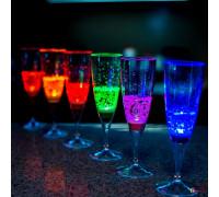 Светящиеся бокалы для вина и шампанского (6 шт.)