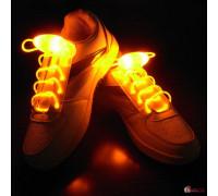 Светящиеся шнурки на батарейках
