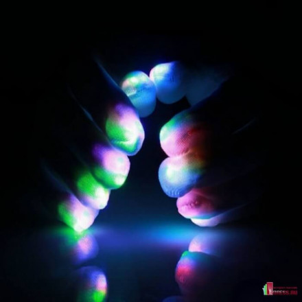 Светящиеся перчатки GLOVES-1