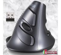 """Вертикальная беспроводная компьютерная мышь """"DELUX M618GL"""""""