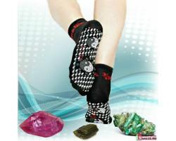 Турмалиновые носки с массажным эффектом