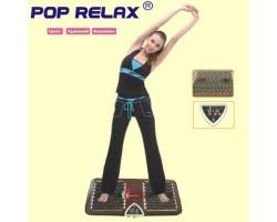 """Турмалиновый массажный коврик для ног """"POP RELAX"""""""