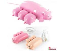 "USB HUB-концентратор ""Свинка с поросятами"""