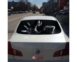 3D наклейка на заднее стекло автомобиля