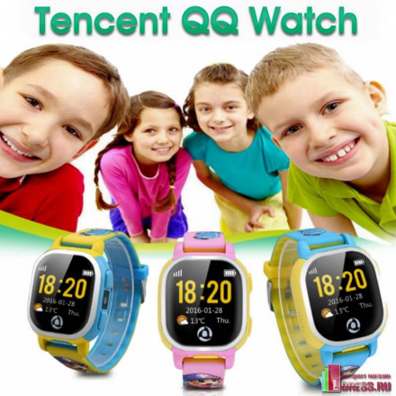 "Детские GPS часы-телефон Tencent ""QQ Watch"""