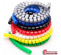 Спиральная оплетка для проводов COLOR BRAID цветная
