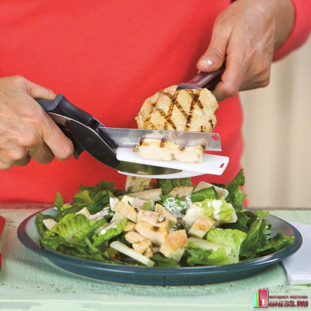 Умный нож 2 в 1 для резки продуктов