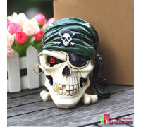 "Пепельница ""Скелет пирата"""