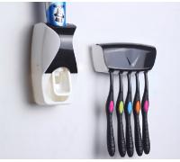 """Дозатор для зубной пасты """"ZGT SKY"""" с держателем щеток"""