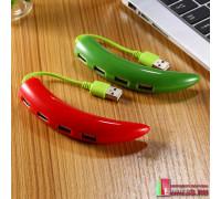 """USB HUB-концентратор """"PEPPER"""" на 4 порта"""