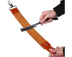 Кожаный ремень для правки бритвы и ножей