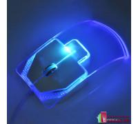 """Компьютерная мышь """"TOUMING"""" стеклянная с подсветкой проводная"""