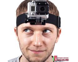 Универсальный ремень на голову для крепления экшн-камеры