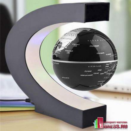 "Левитирующий глобус ""KOBWA"" с подсветкой"
