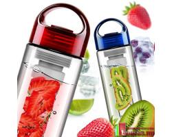 """Бутылка для воды """"FRUIT WATER"""" с контейнером для фруктов"""
