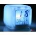 Часы Куб с меняющейся подсветкой