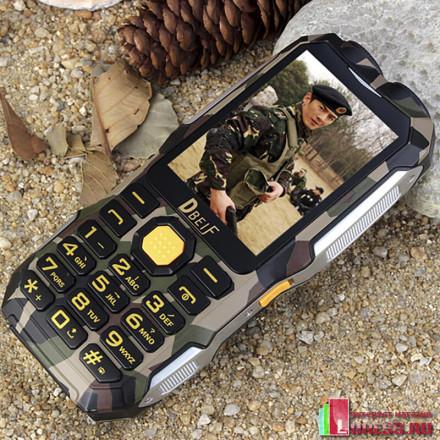 Телефон DBEIF D2016 на 2 SIM с Power Bank, фонариком и TV