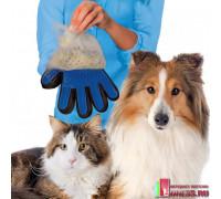 "Перчатка для вычесывания животных ""TRUE-TOUCH"""