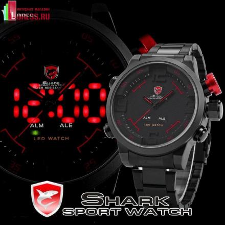 """Мужские наручные спортивные часы """"SHARK"""""""