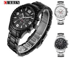 """Мужские наручные спортивные часы  """"CURREN"""" 8056"""