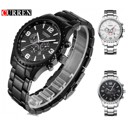 Мужские наручные спортивные часы  CURREN 8056