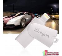 Картридер iDragon для iPhone (Lightning + USB 2.0)