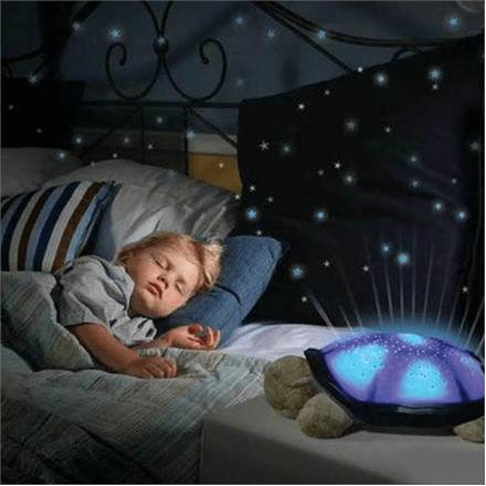 """Ночник-проектор """"TURTLE"""" (Звездное небо) с музыкой"""