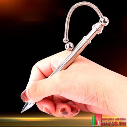 Магнитная ручка-антистресс THINK INK PEN гибкая из металла