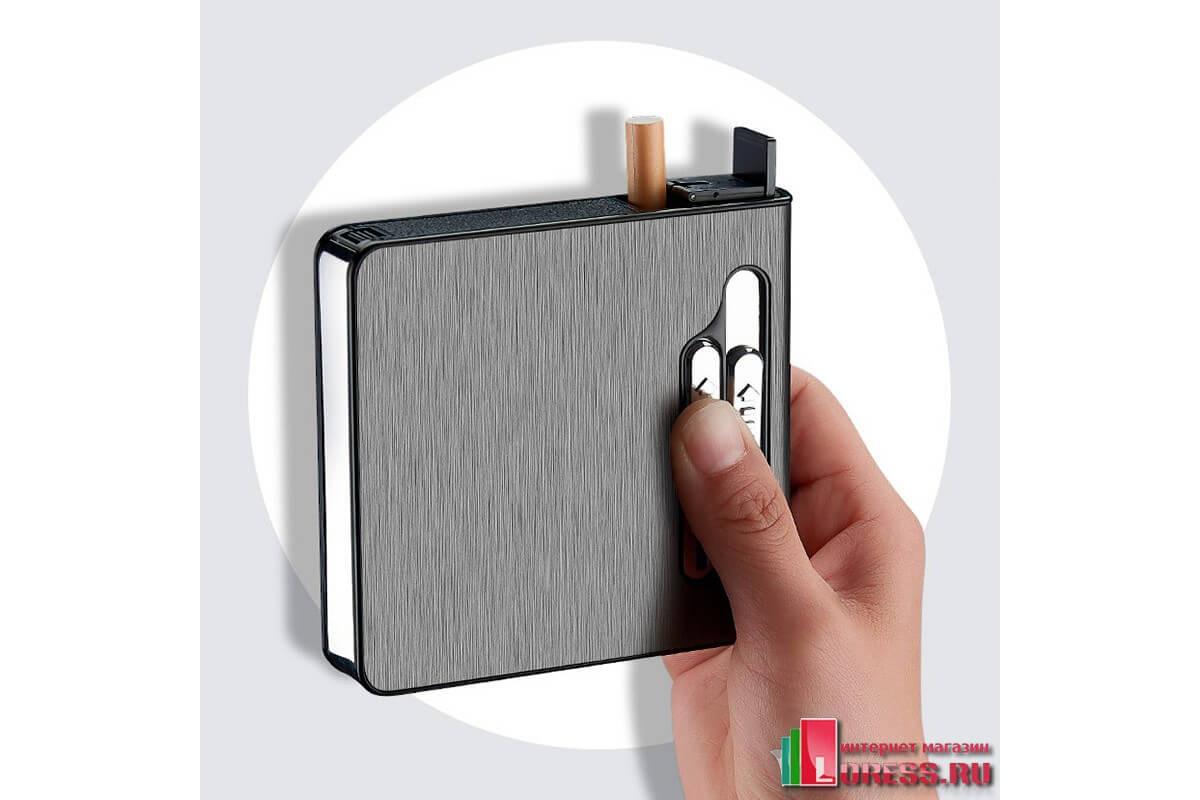 Портсигары на 20 сигарет с зажигалкой купить белорусские сигареты оптом купить в москве