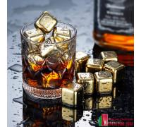 Стальной лед многоразовый для напитков (набор)