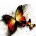 """3D наклейки """"Бабочки"""""""