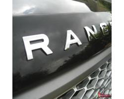 Буквы на автомобиль